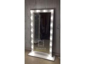 """Выполненная работа: гримерное зеркало 160х80 см с подсветкой буквой """"П"""" (г. Воронеж)"""